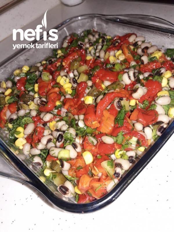 Mis Gibi Börülce Salatası