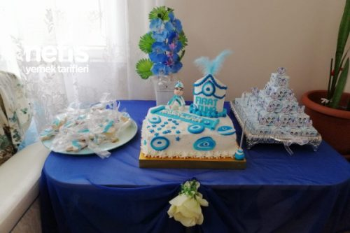 Sünnet Pasta Masası Tarifi