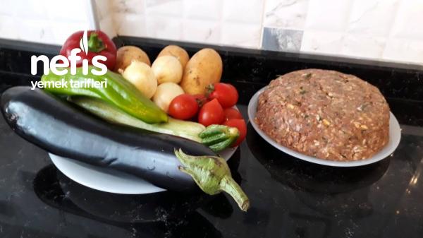 Yaz Sebzeli Köfteli Dizme (fırın Tadında Ocakta)