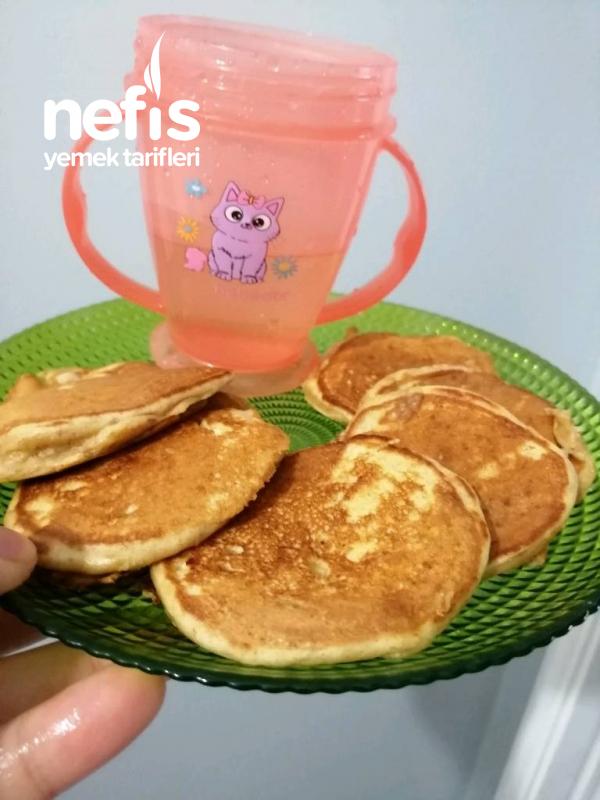 Bebişlere Besleyici Pankek( Blw İsteyen Bebeklere Kurtarıcı Kahvaltı)