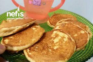 Bebişlere Besleyici Pankek (Blw İsteyen Bebeklere Kurtarıcı Kahvaltı) Tarifi