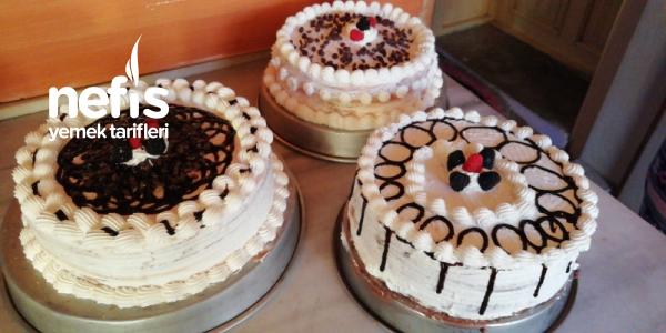 Çocuklu Hanımlar İçin Şipşak Yaş Pasta
