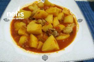 Etli Patates Yemeği Tarifi
