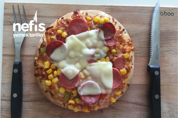 Püf Noktaları İle Hazır Pizza Nasıl Pişirilir? Tarifi