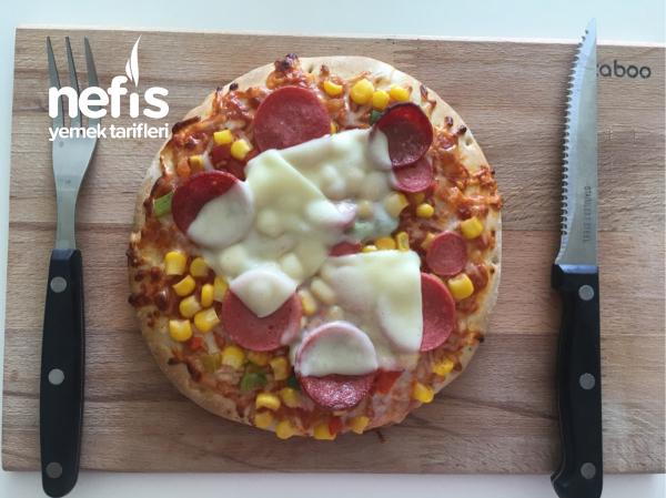 Hazır Pizza Pişirmenin Püf Noktası !