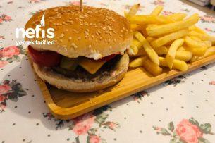Ev Yapımı Hamburger ( Bir Daha Dışarıda Yemeyeceksiniz ) Tarifi