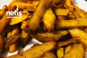 Fırında Zerdeçallı Patates Tarifi