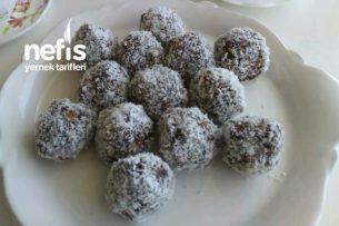 Kahveli Yulaflı Kakaolu Toplar (Danske Kakaotoppe) Tarifi