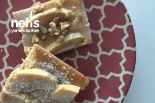 Diyet Kremalı Elmalı Islak Kek Tarifi
