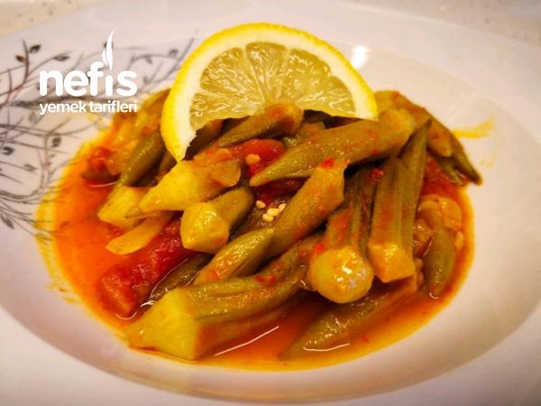 Etsiz Bamya Yemeği – Uzamadan Bamya Yemeği Nasıl Yapılır