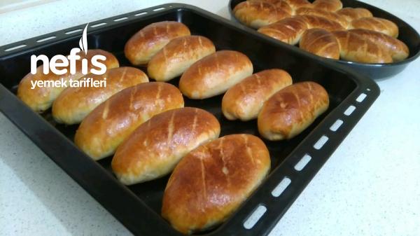 Akşamdan Yoğur Sabah Pişir Poğaça Tarifi (videolu)