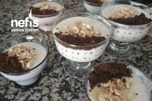 Hazır Kekli Muhallebi Tarifi