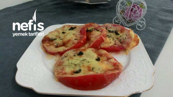 Kahvaltıya Domates Güzeli ( 3 Malzemeli)