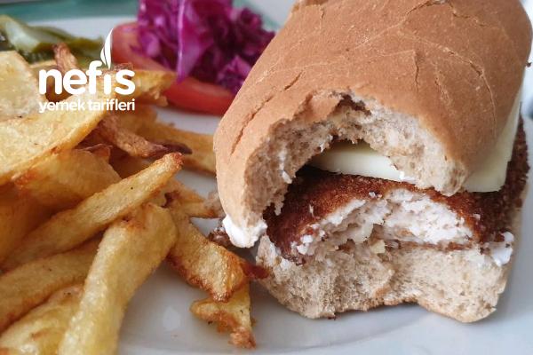 Zencefilli Tavuk Burger Tarifi