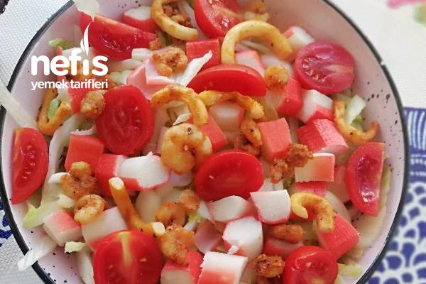 Deniz Mahsulleri Salatası Tarifi