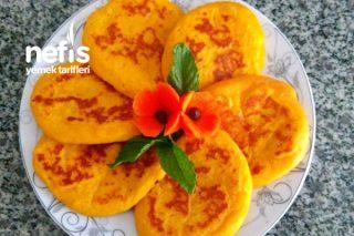 Havuçlu Elmalı Pankek (Sağlıklı Diyet İçin Uygun) Tarifi