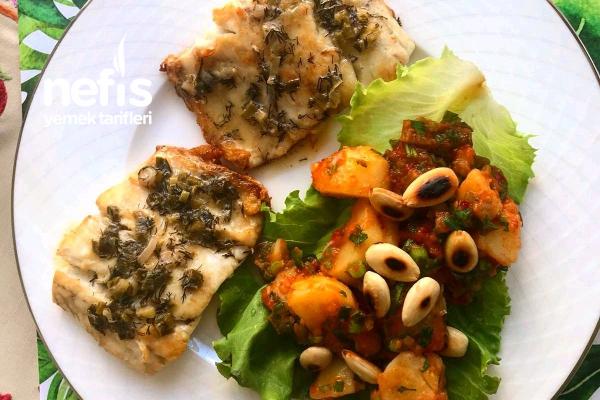 Levrek Ve Patates Salatası Tarifi