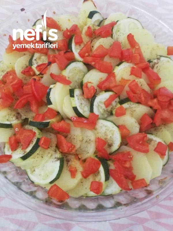 Patates Ve Kapaklı Graten