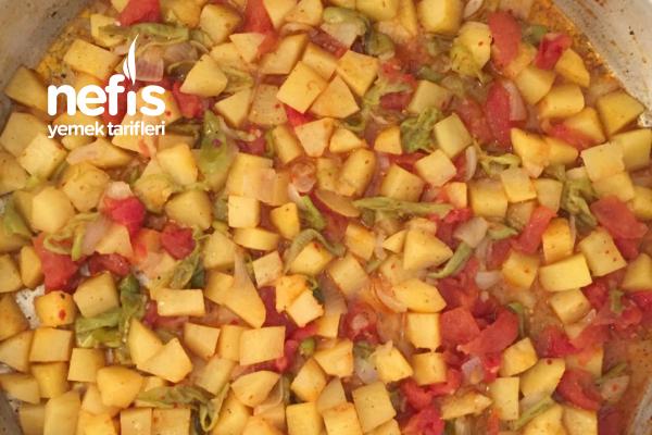 Patatesli Sebze Yemeği Tarifi