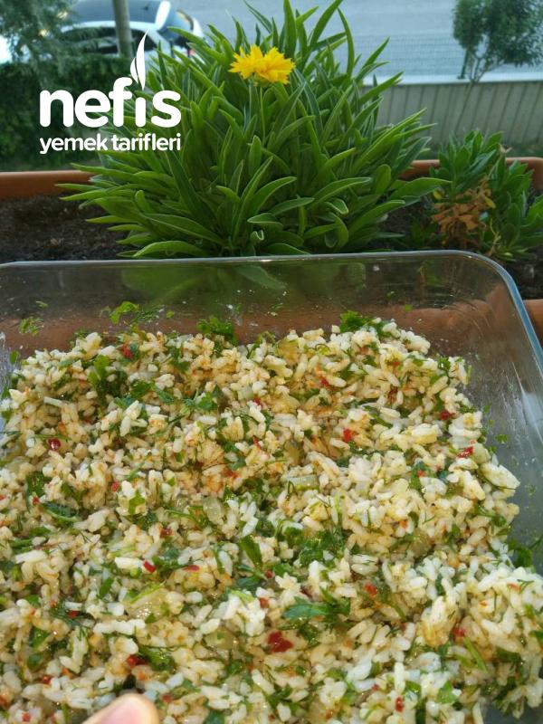 Pirinç Salatası(Çin Pilavı)