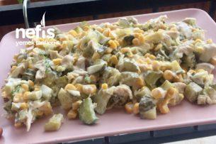 Tavuklu Göbek Salatası Tarifi