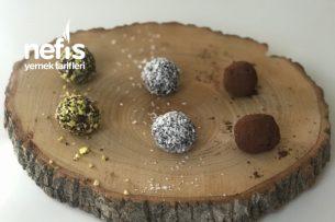 Çikolata Tadında Hurmalı Toplar (videolu) Tarifi