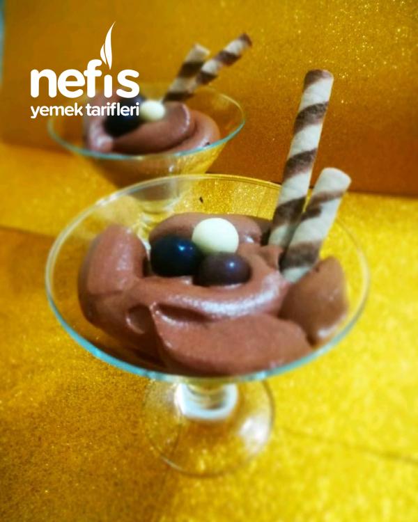 Köpük Çikolata (basit Usul)