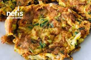 Sebzeli Zerdeçallı Omlet Tarifi