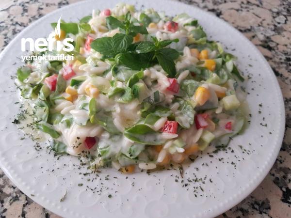 Şehriyeli Semizotu Salatası (ferah Lezzetli)