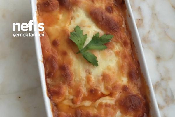 Tavuklu Patlıcan Lazanya (Hamursuz) Tarifi