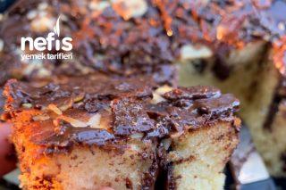 Çikolata Soslu Sade Kek Tarifi