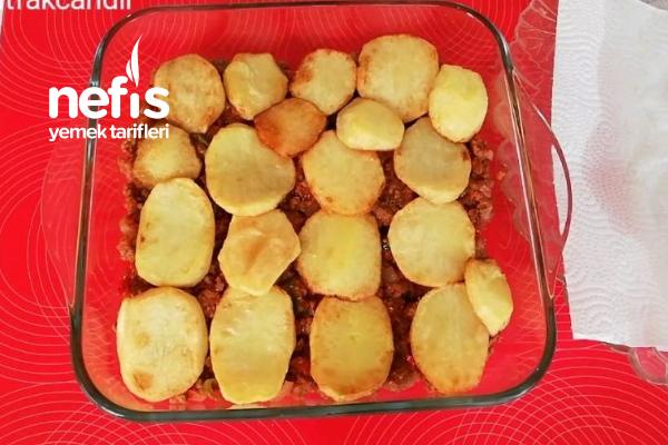 Kaşarlı Kıymalı Patates Dizmesi