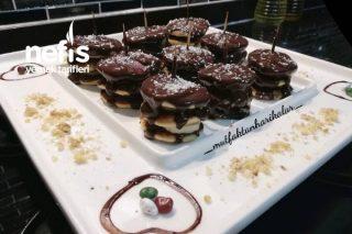 Çikolatalı Mini Pankek Tarifi