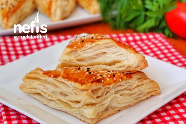 Peynirli Milföy Böreği (videolu) Tarifi