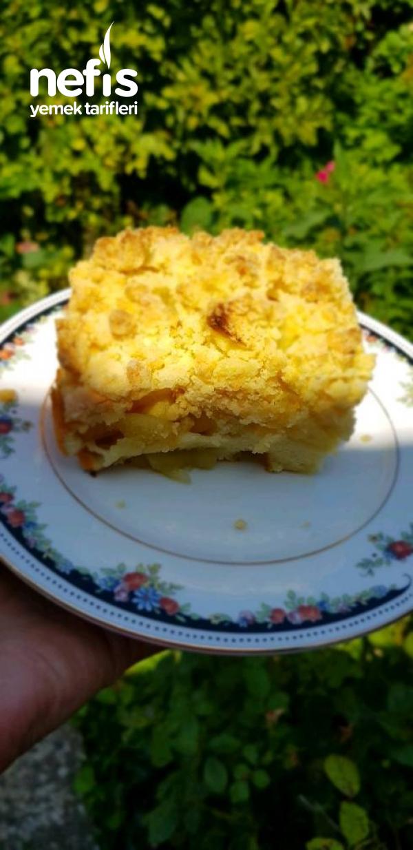 Kırıntılı Elmalı Lazanya (apple Crumble)