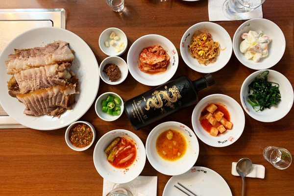 Seorabeol korean restaurant