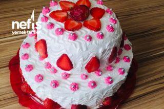 2 Katlı Doğum Günü Pastası (Videolu) Tarifi
