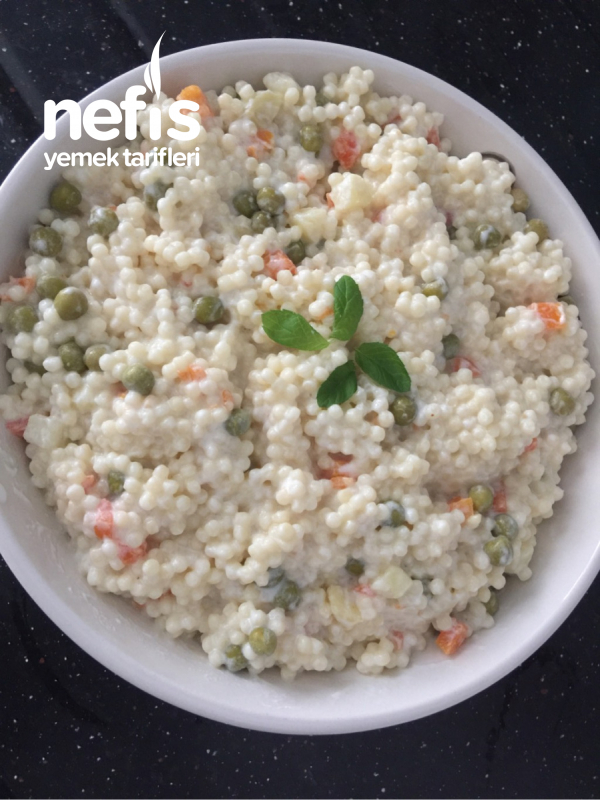 Garnitürlü Kuskus Salata