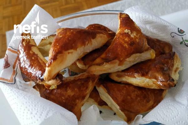 Milföy Hamurundan Kolay Börek Tarifi