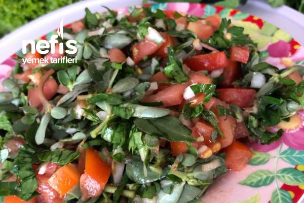 Semizotu Salatası Tarifi