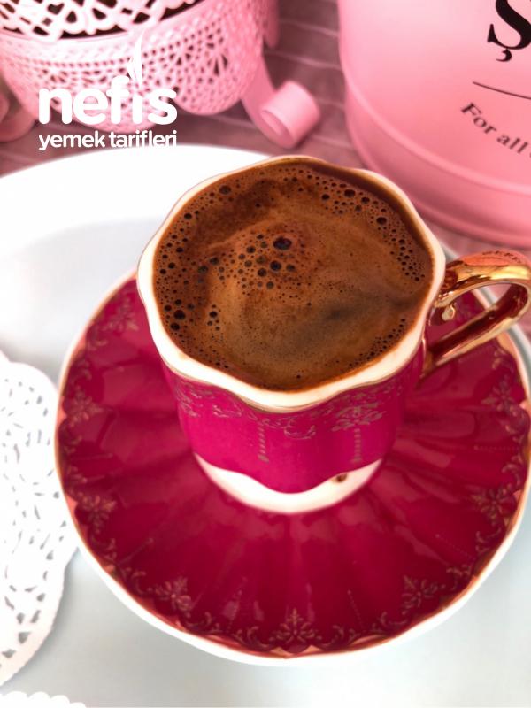 Az Şekerli, Vanilyalı Türk Kahvesi