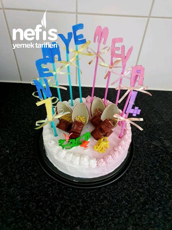 Çocuklar İçin Doğum Günü Pastası