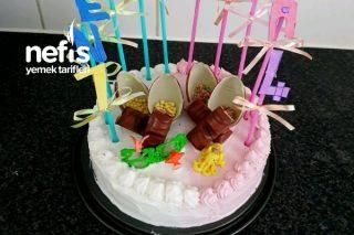 Çocuklar İçin Doğum Günü Pastası Tarifi