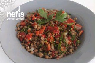 (Diyete Uygun) Mercimek Salatası Tarifi