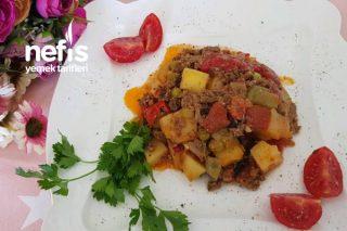 Fırında Kıymalı Sebze (Yaz Yemeği) Tarifi