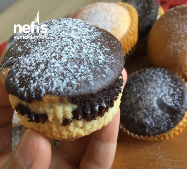 İki Renkli Muffin