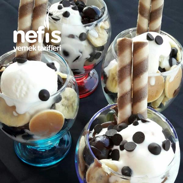 Kupda Dondurmalı Çikolatalı Mini Pankekler ( 10 dakikada)