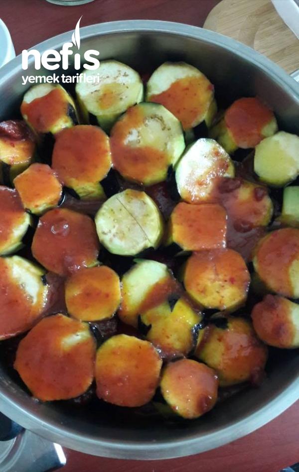 Kuzu Etli Patlıcan Kebabı ( Tencerede )