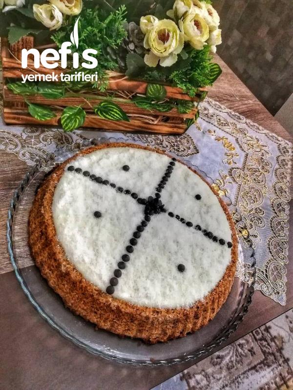 Tart Kalıbında Kıbrıs Tatlısı