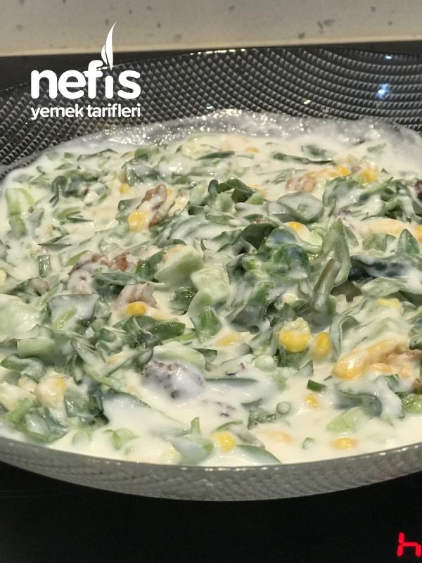 Yoğurtlu Semizotu Salatası(videolu)